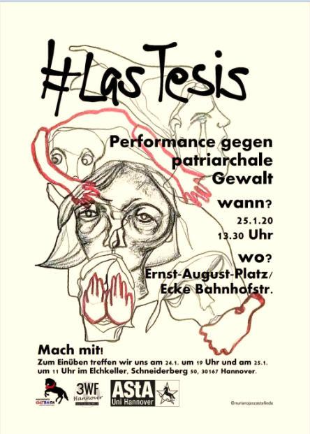 20200125 - Femisatischer Protest #LasTesis@Hannover1